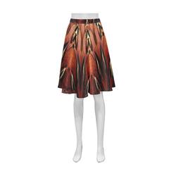 Flaming Feather Kaleidoscope Athena Women's Short Skirt (Model D15)