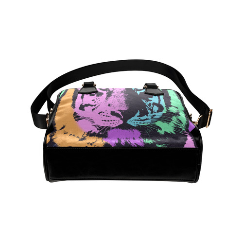 TIGER MULTICOLORS Shoulder Handbag (Model 1634)