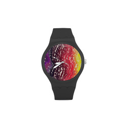 Palettes Unisex Round Rubber Sport Watch(Model 314)