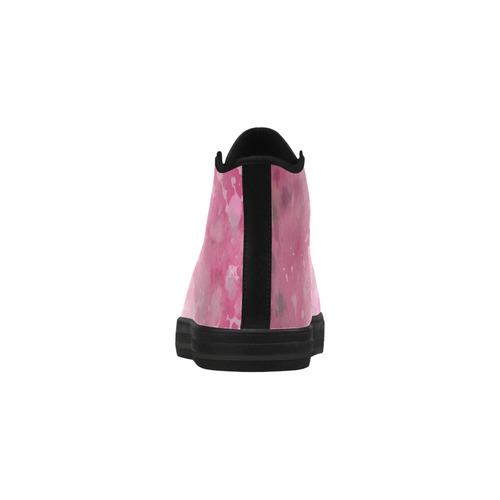 LILAC SURPISE Aquila High Top Microfiber Leather Women's Shoes (Model 032)