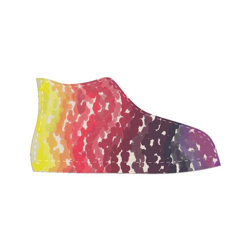 Palettes High Top Canvas Women's Shoes/Large Size (Model 017)