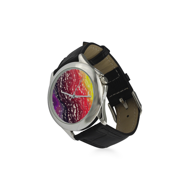 Palettes Women's Classic Leather Strap Watch(Model 203)