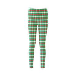 Cool Christmas Plaid Cassandra Women's Leggings (Model L01)