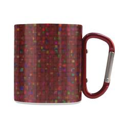Antique Texture Garnet Classic Insulated Mug(10.3OZ)