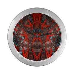 sdweit 11 Silver Color Wall Clock