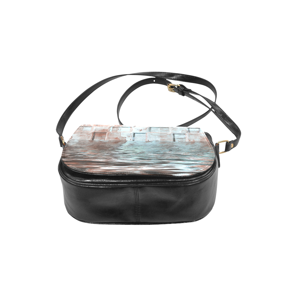 Bronze SeaGate - Jera Nour Classic Saddle Bag/Large (Model 1648)