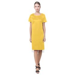 Freesia Short Sleeves Casual Dress(Model D14)