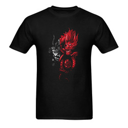 GuerrierDragonrouge Men's T-Shirt in USA Size (Two Sides Printing)