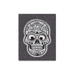 "funny skull Canvas Print 16""x20"""
