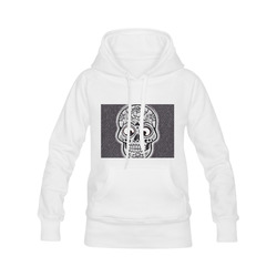 funny skull Men's Classic Hoodies (Model H10)