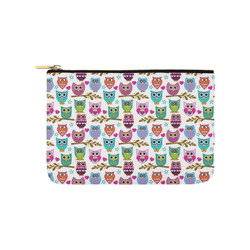 happy owls Carry-All Pouch 9.5''x6''
