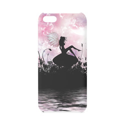 Pink Fairy Silhouette with bubbles Hard Case for iPhone 5C