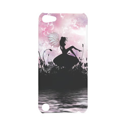 Pink Fairy Silhouette with bubbles Hard Case for iPod Touch 5