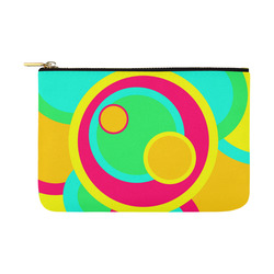 Vivid Circles Carry-All Pouch 12.5''x8.5''
