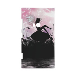 Pink Fairy Silhouette with bubbles Hard Case for Nokia Lumia 920