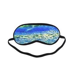Blue Ocean Waves Sleeping Mask