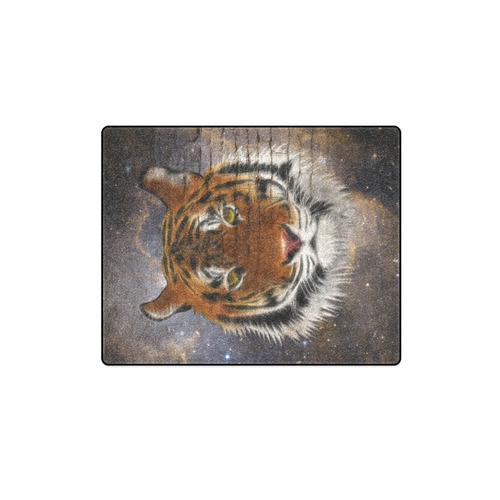 """An abstract magnificent tiger Blanket 40""""x50"""""""