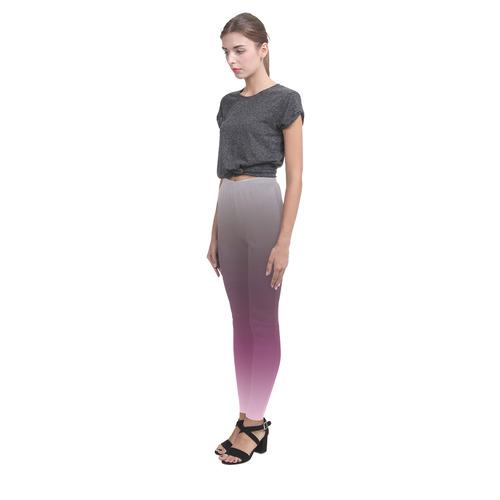 purp grad  leggings template Z Cassandra Women's Leggings (Model L01)