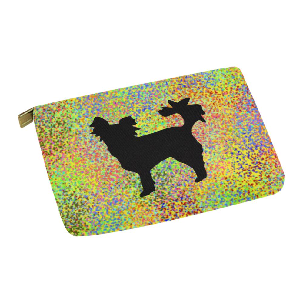 Little Dog Splash Carry-All Pouch 12.5''x8.5''