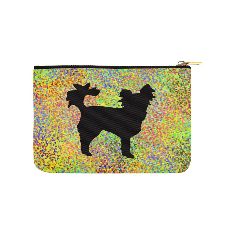 Little Dog Splash Carry-All Pouch 9.5''x6''