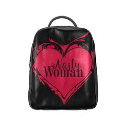 NASTY WOMAN ART HEART for powerwomen Popular Backpack (Model 1622)