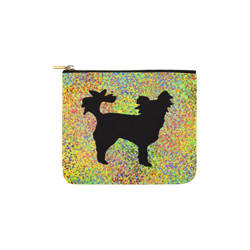 Little Dog Splash Carry-All Pouch 6''x5''