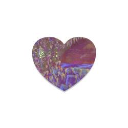 889 Heart Coaster