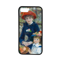 "Renoir Two Sisters Terrace Floral Fine Art Rubber Case for iPhone 7 (4.7"")"