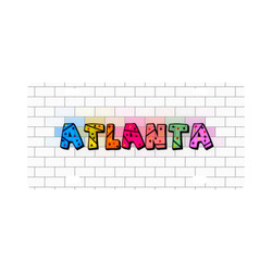 Atlanta by Popart Lover Classic License Plate