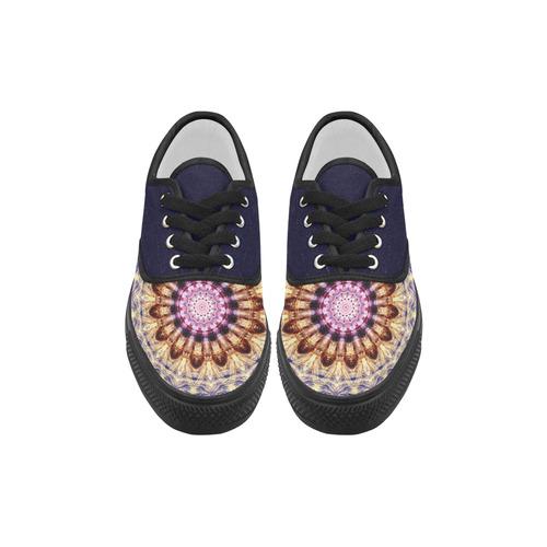Dreamy Mandala Aries Women's Canvas Shoes (Model 029)