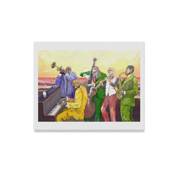 "Super jazz band Canvas Print 20""x16"""