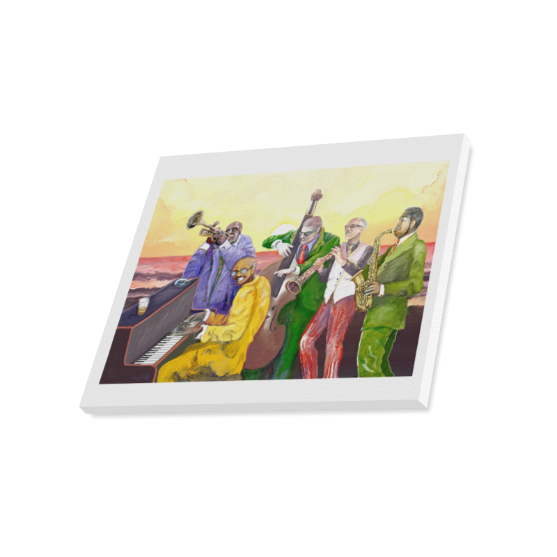 "Super jazz band Canvas Print 20""x16"""