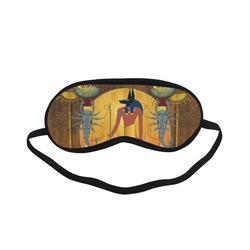 Anubis the egyptian god Sleeping Mask