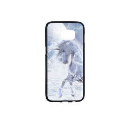 A dreamlike unicorn wades through the water Rubber Case for Samsung Galaxy S7 edge