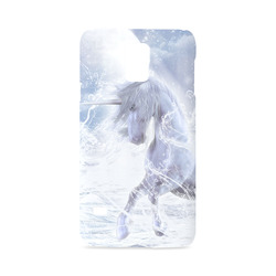 A dreamlike unicorn wades through the water Hard Case for Samsung Galaxy S5