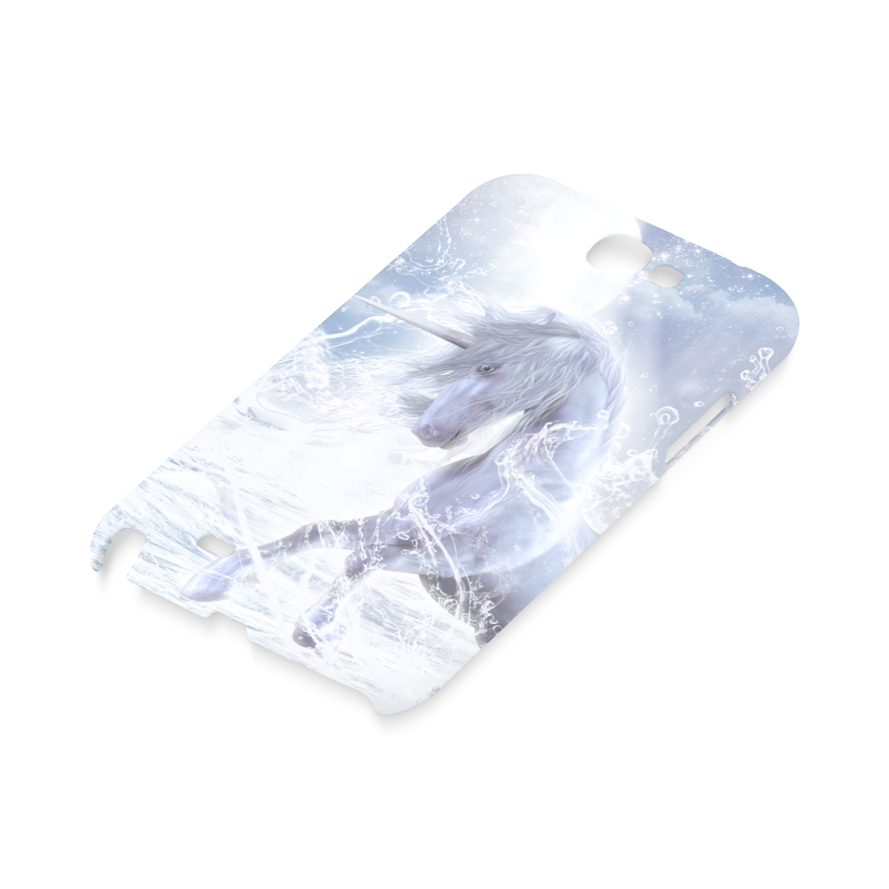 A dreamlike unicorn wades through the water Hard Case for Samsung Galaxy Note 2