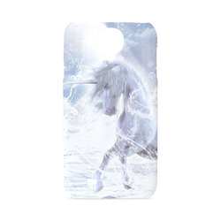 A dreamlike unicorn wades through the water Hard Case for Samsung Galaxy S4