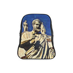 St. Peter's Basilica Rome Italy School Backpack/Large (Model 1601)