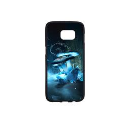 Blue Ice Fairytale World Rubber Case for Samsung Galaxy S7 edge