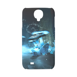 Blue Ice Fairytale World Hard Case for Samsung Galaxy S4