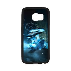 Blue Ice Fairytale World Rubber Case for Samsung Galaxy S6 Edge