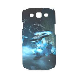 Blue Ice Fairytale World Hard Case for Samsung Galaxy S3