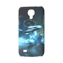 Blue Ice Fairytale World Hard Case for Samsung Galaxy S4 mini