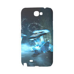 Blue Ice Fairytale World Hard Case for Samsung Galaxy Note 2