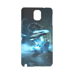Blue Ice Fairytale World Hard Case for Samsung Galaxy Note 3