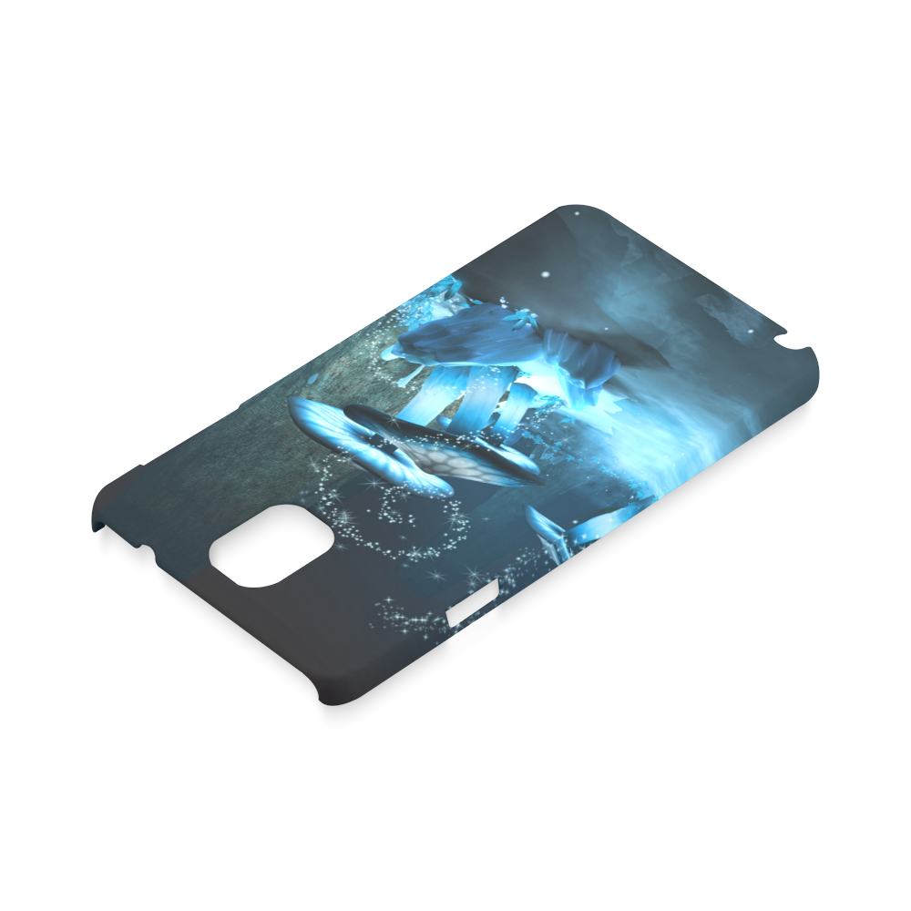 Blue Ice Fairytale World Hard Case for Samsung Galaxy Note 3