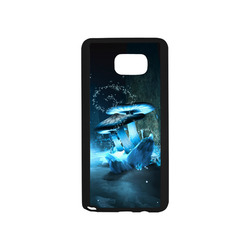 Blue Ice Fairytale World Rubber Case for Samsung Galaxy Note5