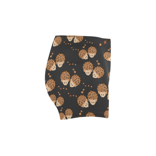 Hedgehogs in autumn Briseis Skinny Shorts (Model L04)