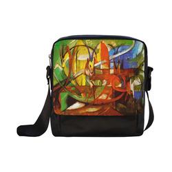 Gazelles by Franz Marc Crossbody Nylon Bags (Model 1633)