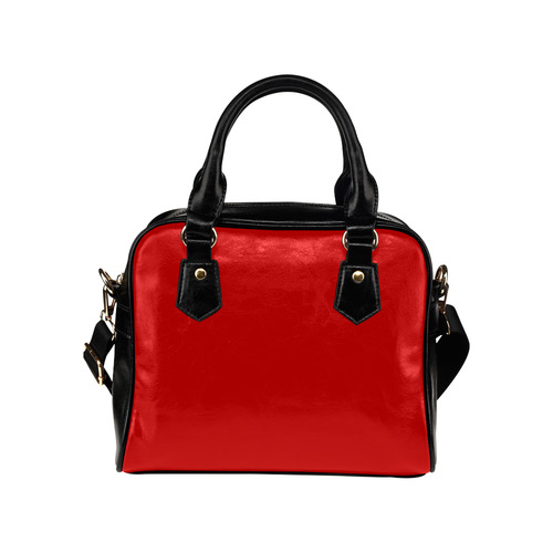 Zappy Simply Red Shoulder Handbag (Model 1634)